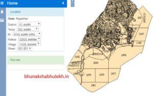 Rajasthan land map